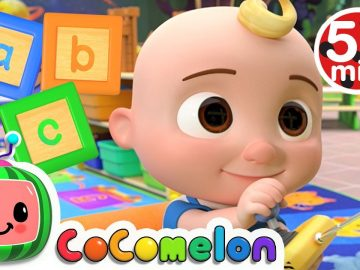 Learn Your ABC's with CoComelon + More Nursery Rhymes & Kids Songs - CoComelon 16