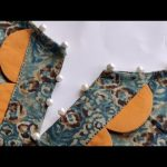 Easy V Placket Neck Design Cutting and Stitching || Neck Design For Kurti/Suit 3