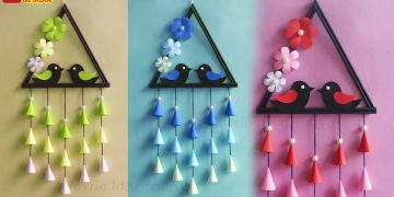 Beautiful Wall Hanging | Unique Wall Hanging Craft Ideas | diy home decoration ideas