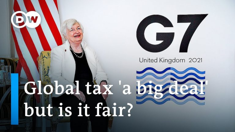 G7 countries reach deal on global corporate tax   DW News