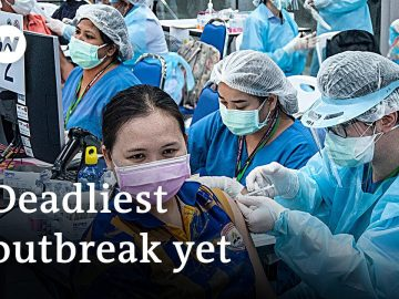 Thailand launches long-awaited vaccination drive | DW News