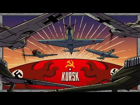 Battle of Kursk from the Aerial Perspective | Animated History