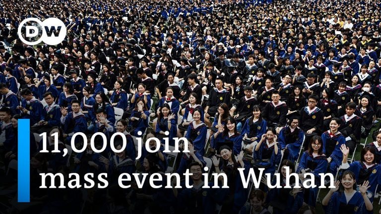 Wuhan celebrates in mass graduation event   DW News