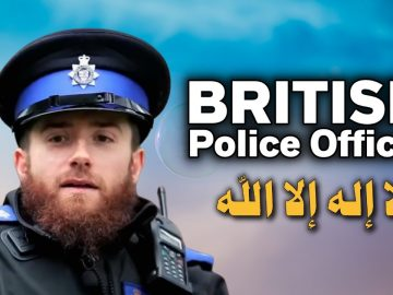 British Police officer Accepts Islam