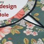 Easy Boat Neck Design With Keyhole Cutting and Stitching / Neck Design 1