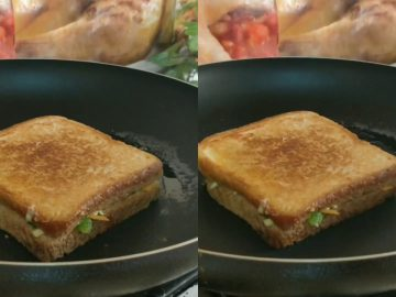 5 ways Sandwiches Recipe - Kids Lunch Box Recipe - ( 5 Tasty Healthy Sandwiches for Lunch)