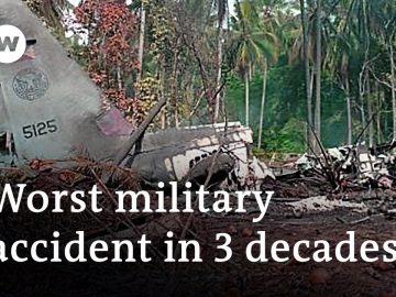 Philippine Air Force: Probe ordered into deadly military plane crash   DW News