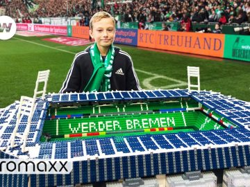 13-Year-Old Builds Famous Soccer Stadiums Out Of Thousands Of Lego Bricks