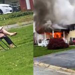 Woman Sets Her House on Fire Then Sits to Watch It Burn: Cops