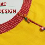 Boat Neck with Piping Placket Cutting and Stitching / Beginners / DIY 1