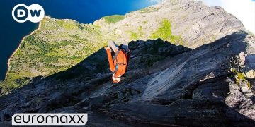 Base Jumping Off One Of The World's Most Famous Cliffs - Heliboogie Festival Norway
