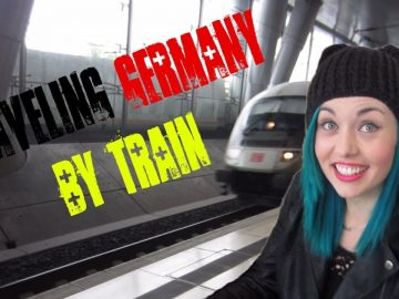 Traveling Germany by Train   Get Germanized Vlogs   Episode 10