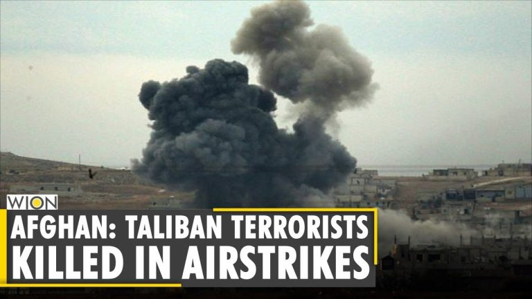 Afghan defence: 20 Taliban terrorists killed in airstrikes in Badakhshan province   WION News Alert