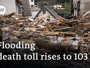 Flooding in Germany: Ministry of Defense issues military disaster alert | DW News