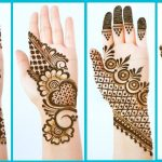 Top 4 Easy Stylish Simple Mehndi designs - Beautiful Mehendi design for front hands - Henna designs 3