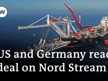 Germany, US strike Nord Stream 2 compromise deal | DW News