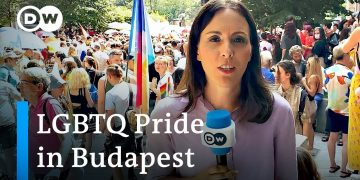 Budapest holds Pride march against Hungary's anti-LGBTQ law | DW News
