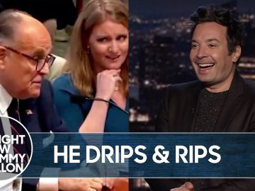 Rudy Giuliani Farts During Michigan Voter Fraud Hearing | The Tonight Show