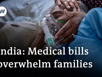 COVID-19: Families struggle with high hospital costs in India | DW News