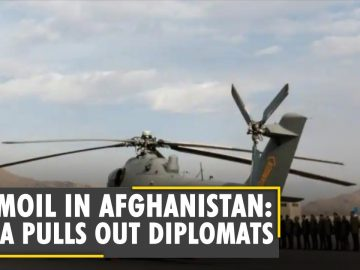 Turmoil in Afghanistan: India pulls out diplomats, other officials