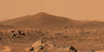 NASA's Mars Perseverance rover snaps shots of unique rock formation in 'ancient lakebed' 23