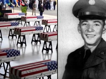 18-Year-Old Killed in War 71 Years Ago Is Laid to Rest