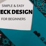 Easy Neck Design with Patch and Potli Buttons/Beginners/DIY 4