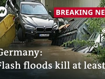 Dozens missing after severe flooding causes chaos in Germany | DW News
