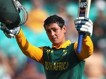 From the Vault: First ton on Aussie soil for young gun de Kock