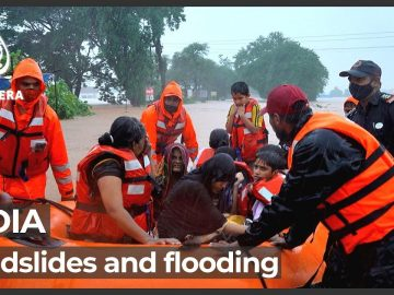 Frantic search for survivors as India's flood death toll rises