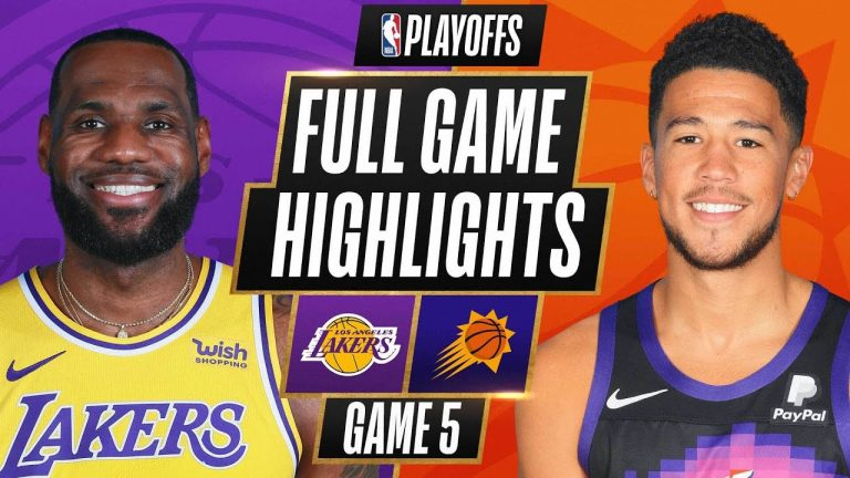 #7 LAKERS at #2 SUNS   FULL GAME HIGHLIGHTS   June 1, 2021