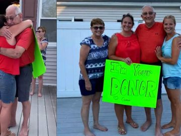Woman Surprises Man With Kidney Donation