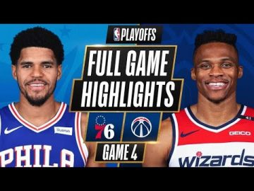 #1 76ERS at #8 WIZARDS | FULL GAME HIGHLIGHTS | May 31, 2021