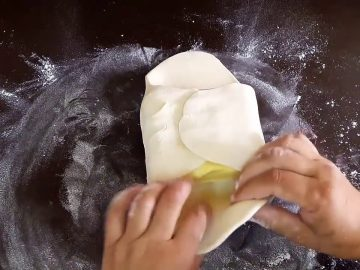 Dough Recipe for Puff Pastry by Cooking with Asifa