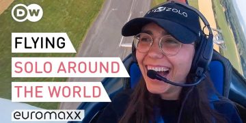 Youngest Woman (19) To Fly Solo Around The World - Zara Rutherford