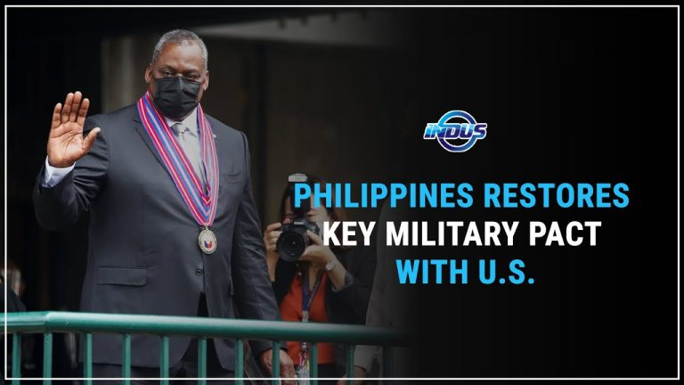 Daily Top News | PHILIPPINES RESTORES KEY PACT WITH U.S. | Indus News