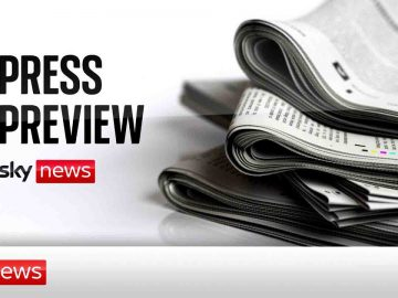 The Press Preview - a first look at Tuesday's headlines