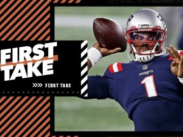 Stephen A. worries Cam Newton's passing could impact the Patriots' Super Bowl chances | First Take