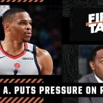 Stephen A. puts the pressure on Russell Westbrook to win with Lakers   First Take