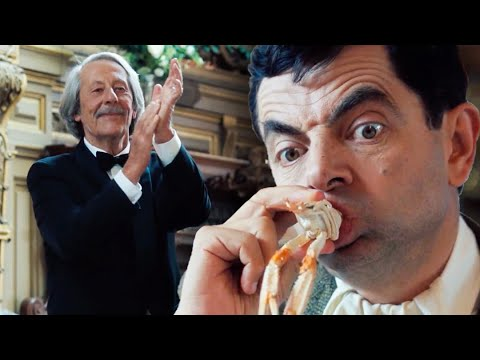 SEAFOOD Bean 🦐   Mr Bean's Holiday   Funny Clips   Mr Bean Official 1
