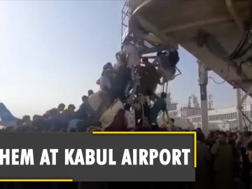 Five people killed inside Kabul airport following attempts of massive evacuation   Afghanistan