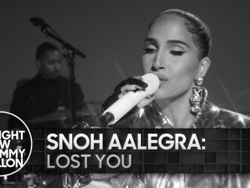 Snoh Aalegra: Lost You | The Tonight Show Starring Jimmy Fallon