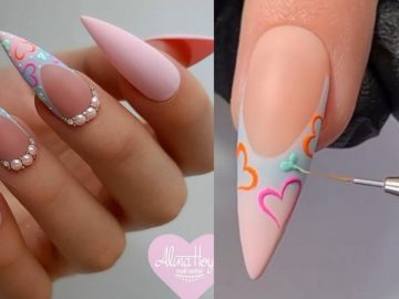 Nail Art Designs & Nails Care Compilation 2021 :Elsie Mike