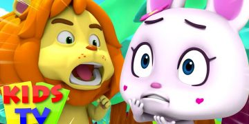Lion and the Rabbit Story | Bedtime Stories for Kids | Pretend and Play Song | Loco Nuts | Kids Tv 15