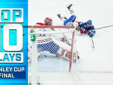 Top 10 Plays from the 2021 Stanley Cup Final