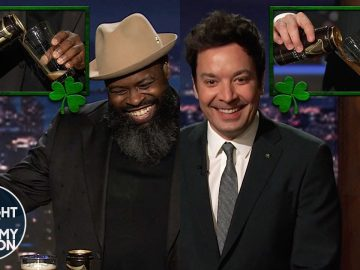 Jimmy and Tariq Attempt to Perfectly Pour a Guinness | The Tonight Show Starring Jimmy Fallon