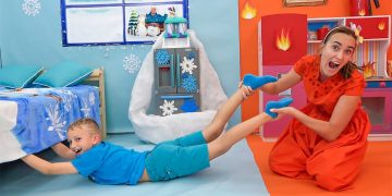 Vlad and Niki - funny stories with Toys for children 13