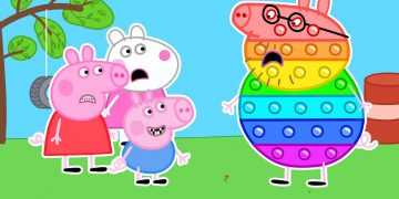 Peppa But POP IT - Peppa and Roblox Piggy Funny Animation 15