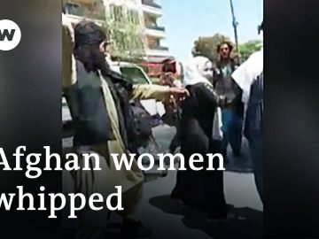 Taliban whip women protesters and beat journalists covering protests | DW News