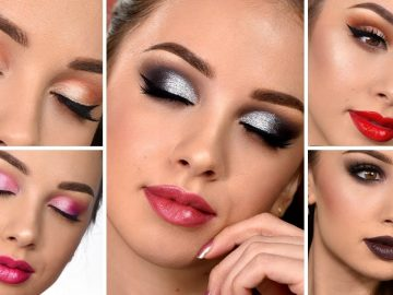5 EASY Makeup Looks Anyone Can Do!